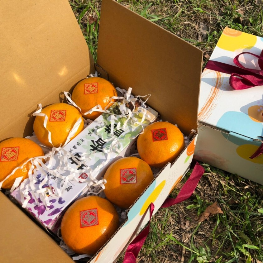 農滎與雲林在地小農合作推出新春過年茂谷禮盒,友善大地耕種,合理化施肥,免運優惠中。